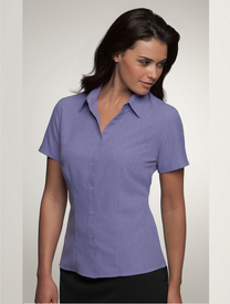City Collection Ezylin Short Sleeve Shirt Lilac