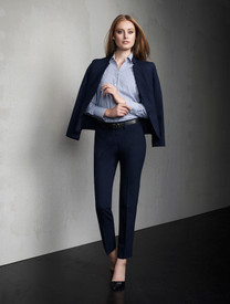 Ladies Slim Fit Wool Blend Pant