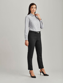 Slim Fit Wool Blend Pant