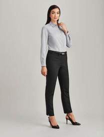 Slim Fit Wool Blend Pant