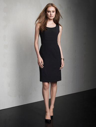Sleeveless Wool Blend Dress