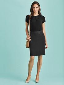 Multi Pleat Cool Stretch Skirt
