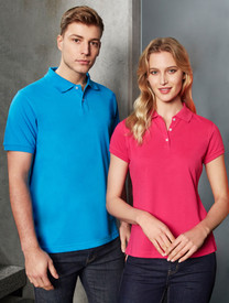 Mens & Ladies Neon Polo