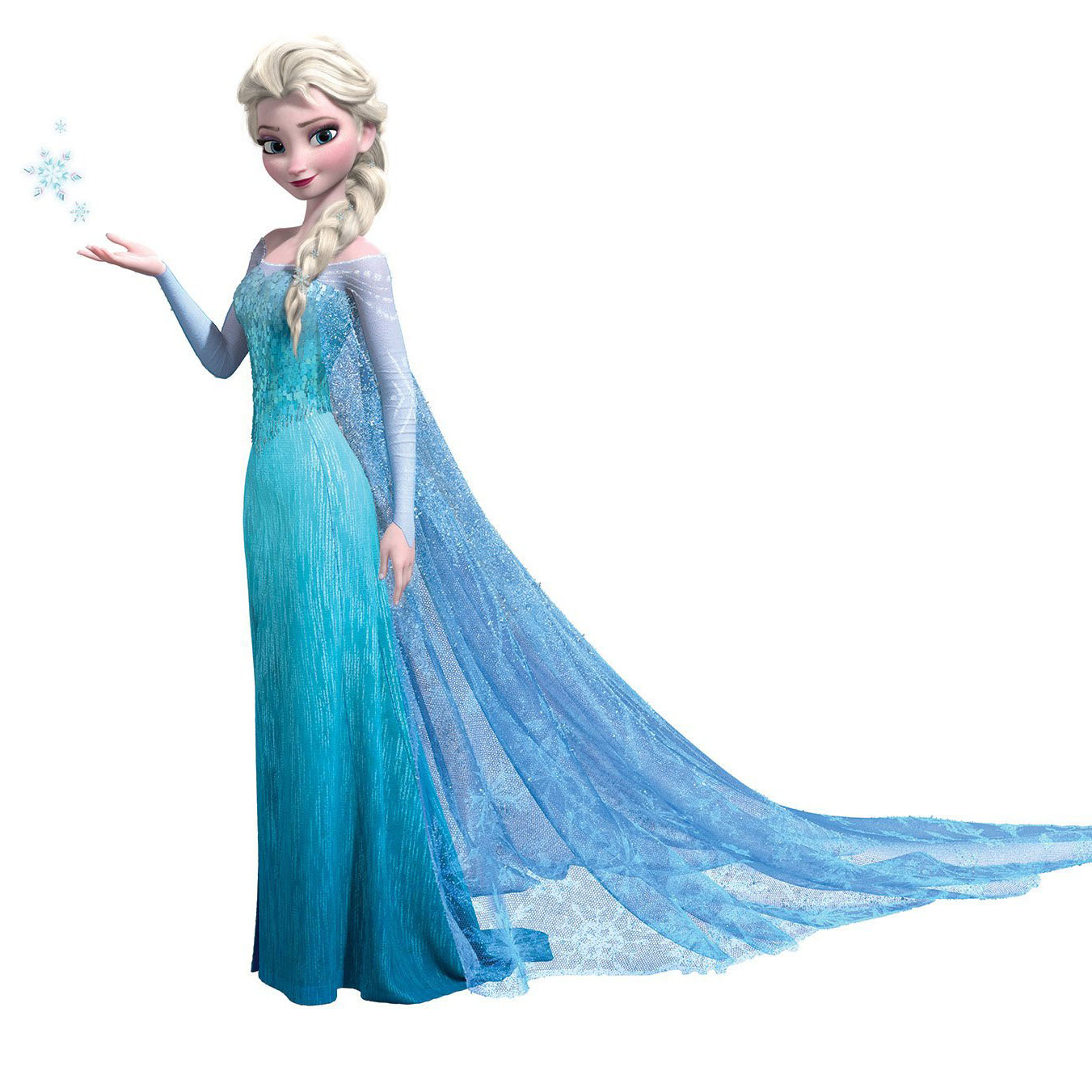 frozen elsa peel and stick giant wall decal innovativestencils