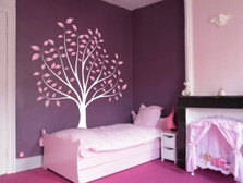 Nursery Tree Large Wall Forest Kids Decal Branches and Leaves #1135