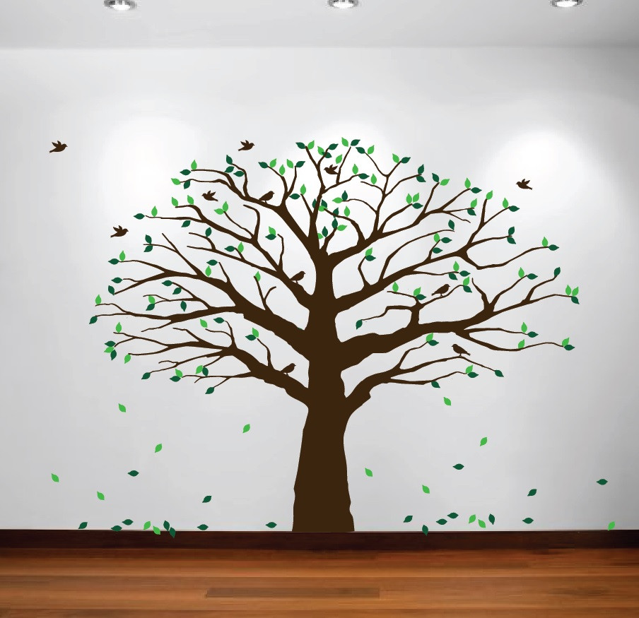 Family Tree Wall Decal From Innovative Stencils