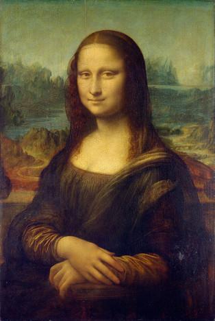 Mona Lisa print