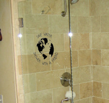 Save Water, Shower With a Friend Bathroom Decal