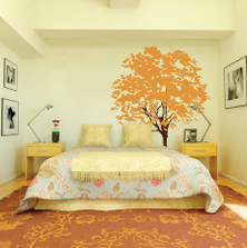 Large Wall Nursery Tree Decal Olive Leaves #1117