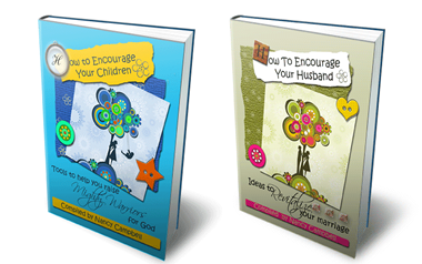 How To Encourage Book Bundle - 2 Books - How To Encourage Your Husband and How To Encourage Your Children