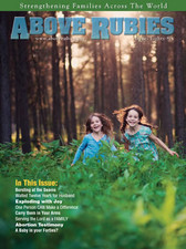 Above Rubies Magazine - Issue #86
