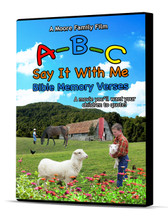 A-B-C Say It With Me Bible Memory Verses - DVD