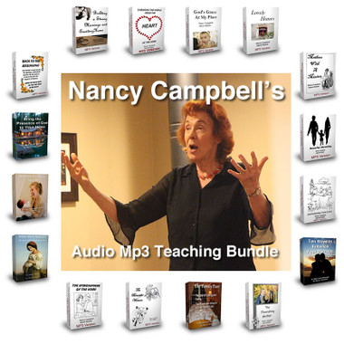 Nancy Campbell's Audio Teaching Bundle - Mp3 Download format