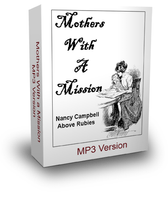 MOTHERS WITH A MISSION - Downloadable MP3 Format