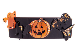 HALLOWEEN HAIR CLIP BARRETTE LARGE15845N