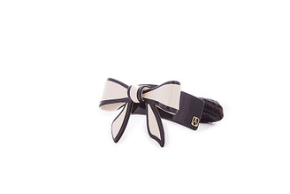 PONY TAIL HOLDER BOW APY-12688-08X. PRE-ORDER