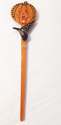 HALLOWEEN STICK WITH CRYSTALS 15852O