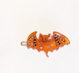 HALLOWEEN BAT WITH CRYSTALS #15840O