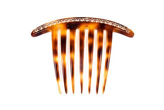 Side Comb Classic French Twist Swarovski AFCH-2636-08E. PRE-ORDER