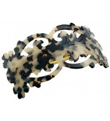 BARRETTE LARGE NEO  BAROQUE AQCH-9783G. PRE-ORDER