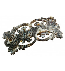 BARRETTE BAROQUE MEDIUM  AA8-1165O. PRE-ORDER
