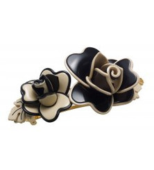 "BARRETTE MEDIUM ""ROSE LISERE"" AA8-14291-02Z2"