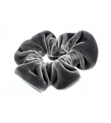 TCH-17403-GMG SCRUNCHIE LARGE VELVET