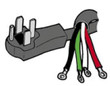 Range Electric Cord - B220306
