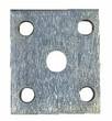 Tie Plate - 5 Hole Square - TP17512