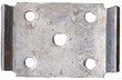 Tie Plate - 5 Hole Square - TP5238