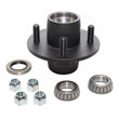 "4 Lug on 4.00"" Hub Kit - 1"" x 1"" - PTS008-091-1M"