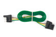 "4 Way Loop 72"" Bonded Car & Trailer End - CI-5"