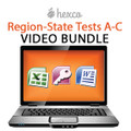 Region-State Tests A-C VIDEO BUNDLE
