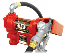 24v Electric drum pump with automatic nozzle - Fill Rite (FR2410CEA)