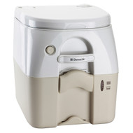 Dometic - SeaLand 975 Portable Toilet 5.0 Gallon - Tan w\/Brackets