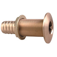 "Perko 1-1\/2"" Thru-Hull Fitting f\/ Hose Bronze Made in the USA"