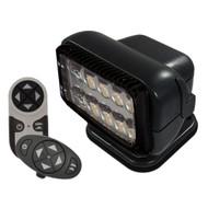 Golight Permanent RadioRay LED w\/Wireless & Dash Remote - Black