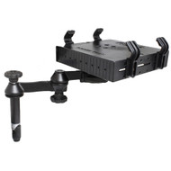 "RAM Mount Double Swing Arm w\/4"" Male Tele-Pole - Laptop Tray"
