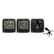 Raymarine i50\/i60 Wind\/Speed\/Depth System Package