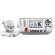 Icom M424G Fixed Mount VHF Marine Transceiver w\/Built-In GPS - Super White