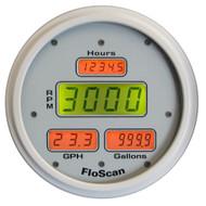 FloScan 7200-20B-1 Fuel Meter - I\/B, I\/O & O\/B - 350HP Max - White