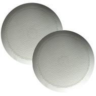 "Majestic SPK60 Ultra Slim 6"" Speakers 30W - White Pair"