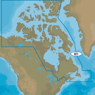 C-MAP MAX-N+ NA-Y021 - Canada, North & East
