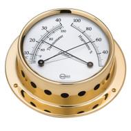 "BARIGO Tempo Series Ship's Comfortmeter - Brass Housing - 3.3"" Dial"