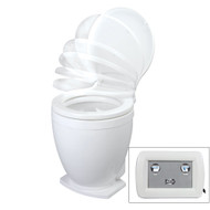 Jabsco Lite Flush Electric 24V Toilet w\/Control Panel