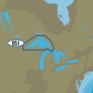 C-MAP MAX NA-M051\/SD - Lake Superior Bathymetric SD Format