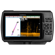 Garmin STRIKER 7cv Fishfinder w\/77\/200kHz\/ClearVu - 4-Pin Transducer w\/Transom & Trolling Motor Mounts