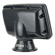 NavPod PP4408 PowerPod Pre-Cut f\/Simrad GO7 & B&G Vulcan 7 - Carbon Black [PP4408-C]