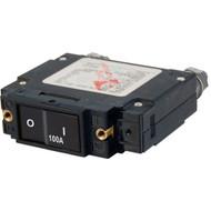 Blue Sea 7549 C-Series Flat Rocker Circuit Breaker - Single Pole - 100A [7549]