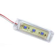Innovative Lighting 4x1 Tri-Lite - Clear Housing - 3 Blue LEDs [055-2500-7]